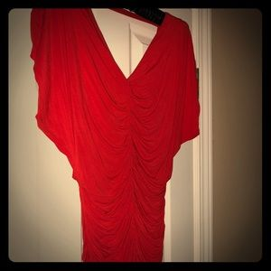 Red tunic/blouse by Bailey 44